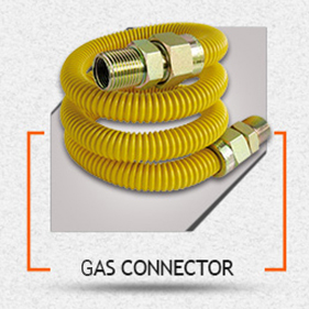 Tub d'acer inoxidable corrugat flexible per Connectors de gas