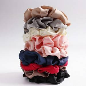 Hot Sale Custom Made Silk Scrunchie EIT-051
