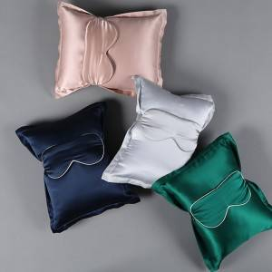 19 Momme Silk Pillow and Silk Eye Mask EIT-093