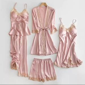 Sexy Women Five-piece Pajama Suits EIT-062