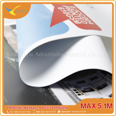 Top Quality Faster Drying Frontlit Banner -