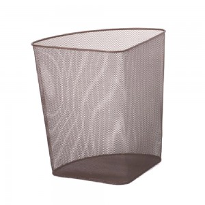 Special triangle shaped corner waste basket