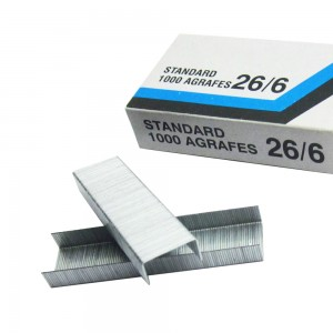 Office standert galvanized 26/6 staple tried