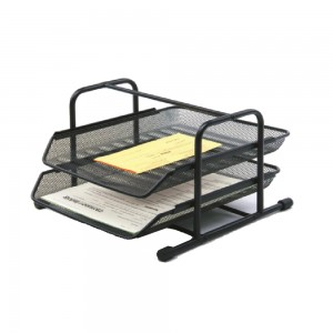 Office desktop 2 layers documents file tray