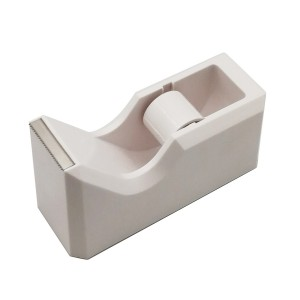 Office desktop clear white tape dispenser