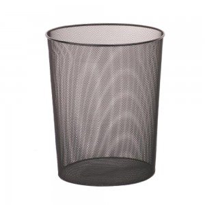 Large size office round paper waste basket
