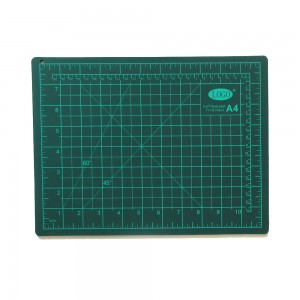 Flexible PVC 3 layers A4 size paper cutting mat