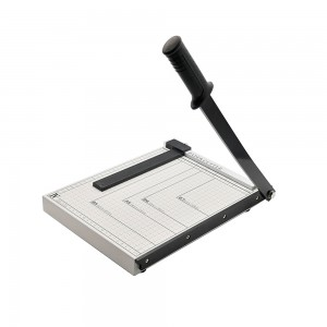 Office desktop A4 size guillotine paper cutter