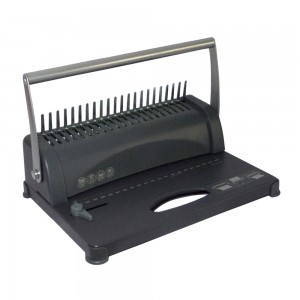 Office A4 size 350 sheets comb binding machine