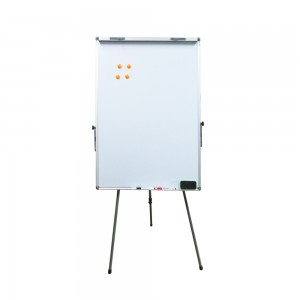 60x90cm stand magnetic whiteboard with file clips