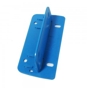 Plastic foldable 2 sheets 2 holes paper punch
