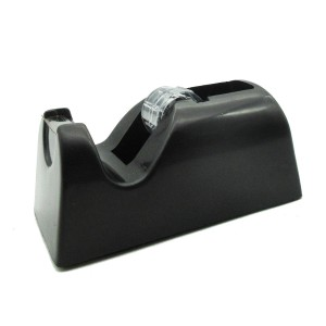Office desktop black tape dispenser
