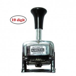 Office 10 digits metal automatic numbering machine