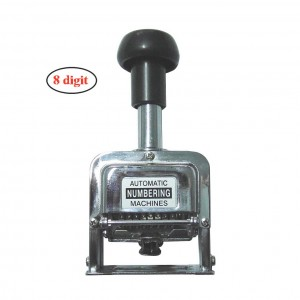Office 8 digits metal automatic numbering machine