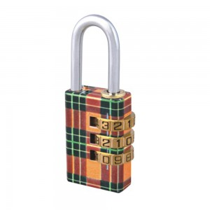 Colorful design 3 digital code lock