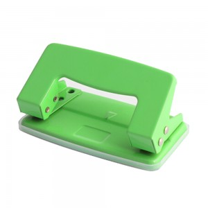 Mini metal 8 sheets 2 holes paper punch