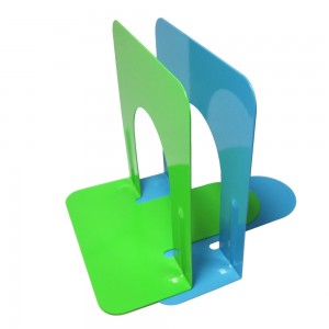 Desktop colorful metal 5 inches bookend
