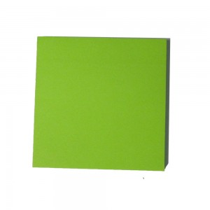 Colorful 100 sheets square memo sticky notes
