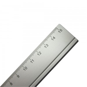 Office 15cm aluminium metal ruler