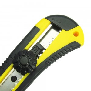 Office quality 18mm blade utility knife