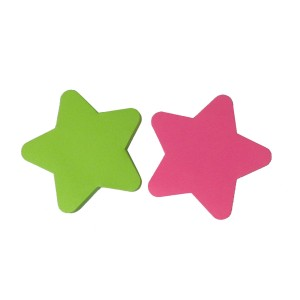 Office 50 sheets star shaped memo sticky notes
