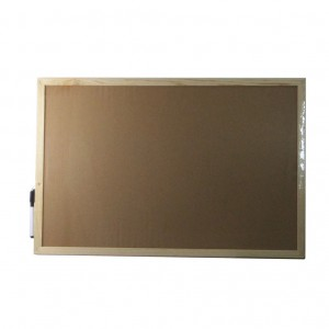 60x40cm wooden frame magnetic writing whiteboard