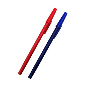 Cheap plastic office simple ballpoint pen
