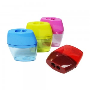 Student double holes pencil sharpener