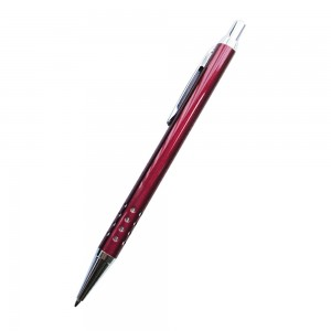 Quality 24 holes aluminium barrel metal ballpoint pen