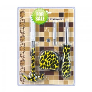 Colorful printed floral 3 pieces hand tool set