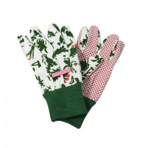 Customer's design cotton garden gloves