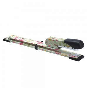 Office floral printing 320mm long reach stapler