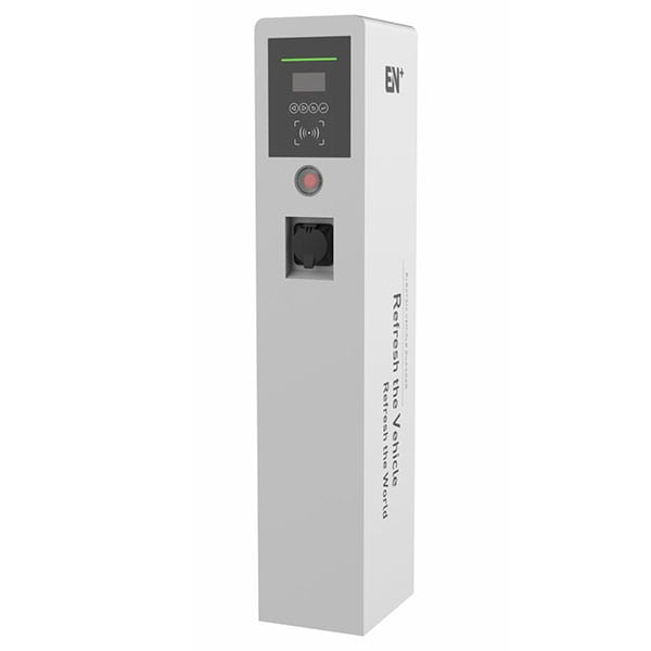 2x7kW AC Single-phase Pedestal Bussiness Charging Station