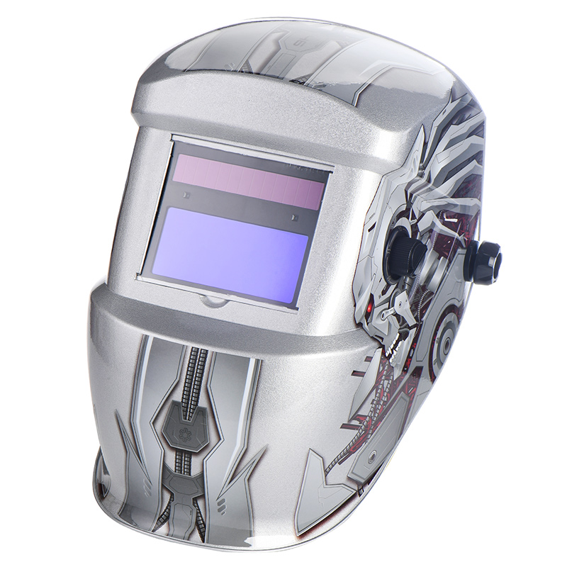 Free sample for Mask For Welding - EH-0286 Auto Darkening  Welding Helmet – Essen detail pictures