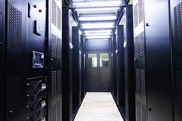 XRow cooling solution at one of the biggest internet service provider's data center (China)