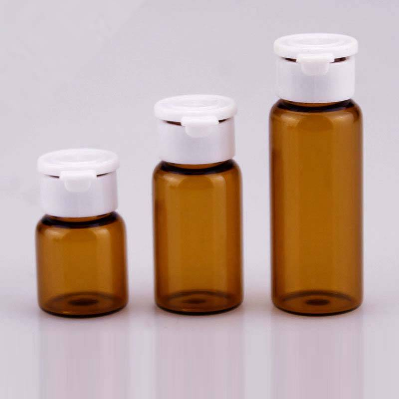 Cheapest Factory Small Glass Vials Dropper -