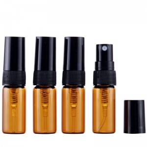 Discount wholesale Small Glass Bottles With Lids -