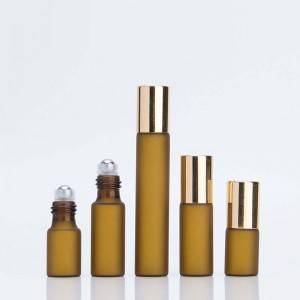 Factory Free sample Essential Oil Glass Roller Bottle -