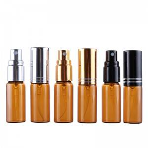 2017 China New Design 3ml 5ml 10ml perfume sprayer glass vials -