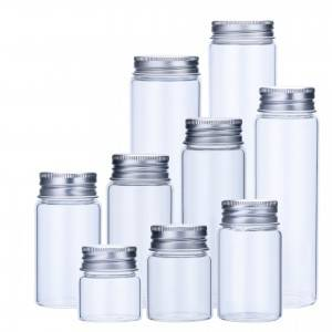 OEM Manufacturer Cookier Glass Jar -