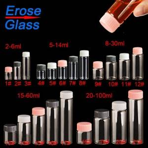 One of Hottest for Small Glass Bottle With Screw Cap -