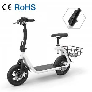 D0 Power Assisting 12 inch Delivery Electric Bike