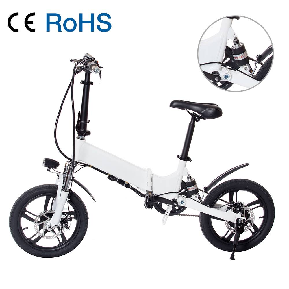 VB160 Pedal Seat Available 16 inch Foldable Electric Bike Featured Image