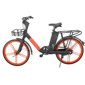 Professional Sharing Rental GPS Location Electric Bike G1 orange