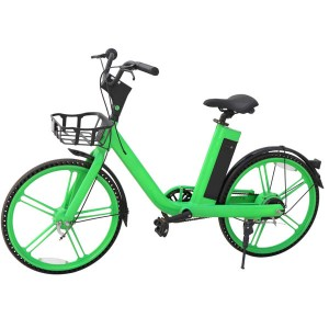 Professional Sharing Rental GPS Location Electric Bike G1 green