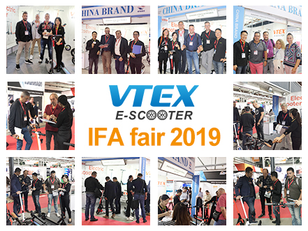 Saya IFA 2019 Fair ku Berlin