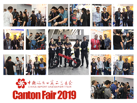 Canton Fair 2019 em Guangzhou, China.