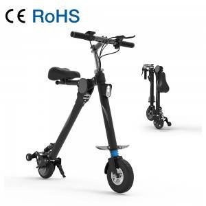 VB85 No Pedal Seat Available 8.5 inch Foldable Electric Bike