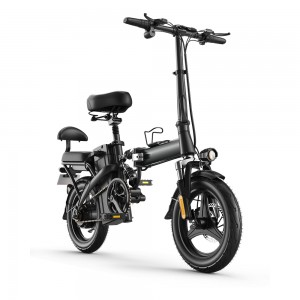 VB140 Power Assisting 14 inch Cargo Shelf Optional Electric Bike