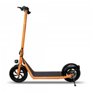 M120 Front Suspension 12 inch Orange Electric Scooter